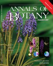 Annals of Botany Cover