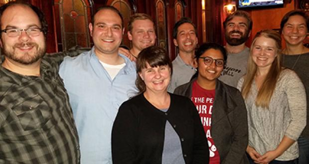 Amacher lab group photo November 2016