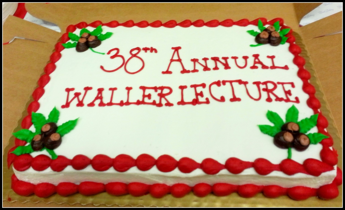 Waller Lecture Dinner
