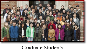 The graduate students in the Department of Molecular Genetics