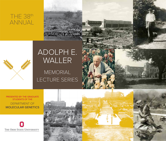 The 38th Annual Adolph E. Waller Memorial Lecture