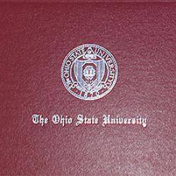 OSU diploma cover