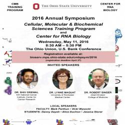 RNA Biology/CMBP Symposium flyer