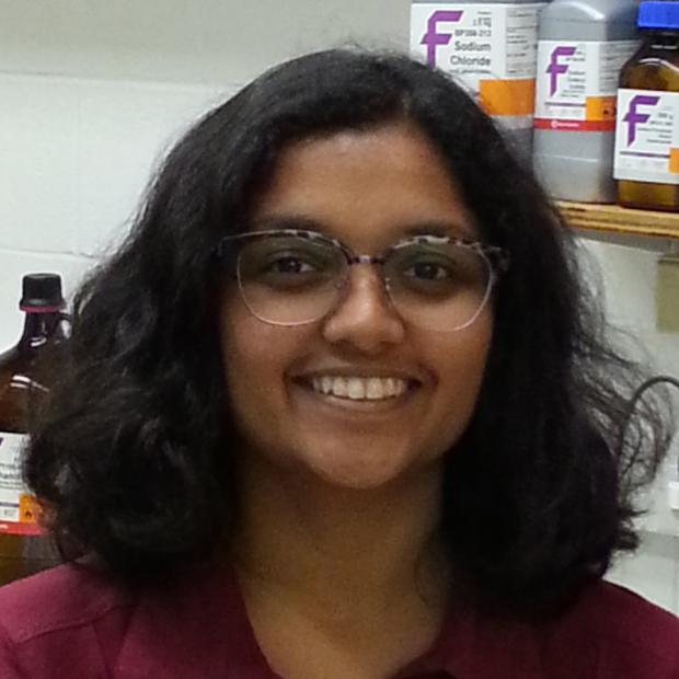 Photo of graduate student Pooja Gangras