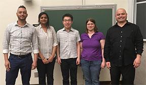 Research presentation winners