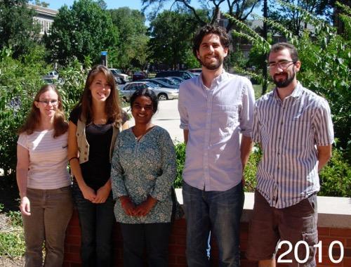 Slotkin Lab Members - 2010