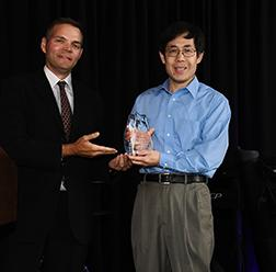 Jian-qiu Wu recieves Sanford Goldston Memorial Research Award