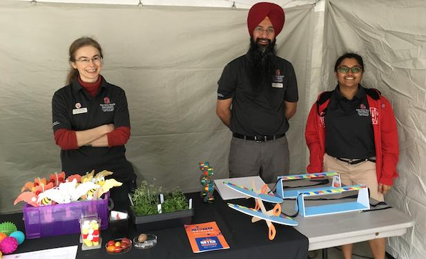 Drs. Dobritsa and Singh along with graduate student Pooja Gangras